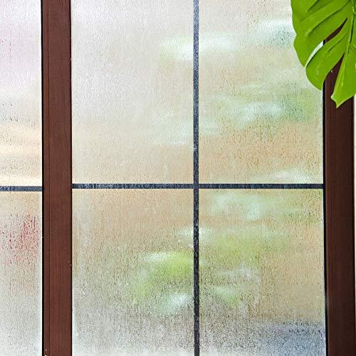 YSHUO Fensteraufkleber 3D Fensterfolie Regen Sichtschutzfenster SelbstklebendeDekorfolie StatischHaftendeGlasfolie Kein Kleber Anti-Uv
