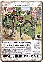 Montgomery Ward Bicycle ティンサイン ポスター ン サイン プレート ブリキ看板 ホーム バーために