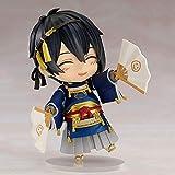 WISHVYQ Touken Ranbu Online Anime Modelo Mikazuki Munechika Soporte Q Versión Versión Escultura Decoración Estatua Muñeca Modelo Altura 10cm