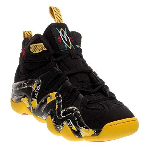 Chaussure Basketball Crazy 8 Noir-Jaune C75766. Taille FR = 54 2/3