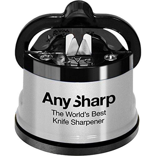 AnySharp ANYSHARPSILVERDE Global - Afilador de Cuchillos, Co