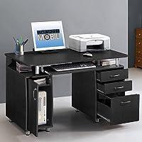 Techni Mobili Super Storage Computer Desk (Espresso)