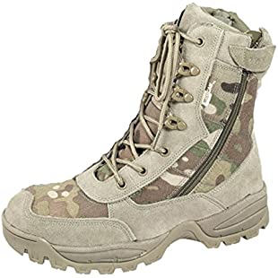 Viper Multicam Special Ops Patrol Boots Desert Camo Mtp Combat Army Military (UK 12)