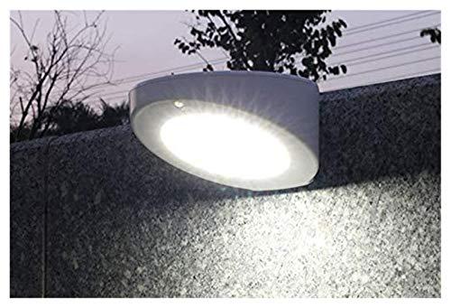 Lámpara de pared de pared solar LED Sensor de movimiento de radar 4 Modos de jardín solar Luz exterior 16/48/60 Luces LED Lámpara de pared a prueba de agua con energía solar (Color emisor: Iluminación