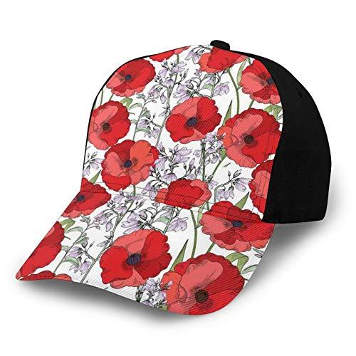 Gorra de béisbol para hombres y mujeres, ligera para deportes al aire libre, protección UV en verano de 22.4-23.7 pulgadas, Color28, S-M