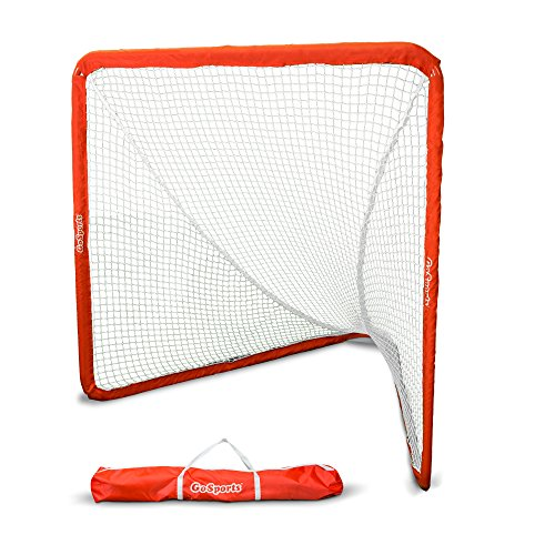 GoSports Regulation 6' x 6' Lacrosse Net with Steel Frame | The Only Truly Portable Lacrosse Goal...