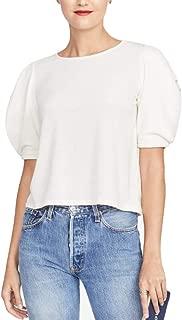 Rachel Rachel Roy Drape-Sleeve Top Ivory Size XX-Large