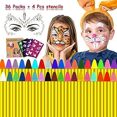 Emooqi Halloween Kinderschminke Facepainting