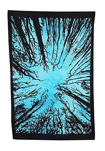Marusthali ARS-Bavaria - Decorazione per cameretta della Boemia, Motivo: Hippie Indian Tie Dye, Piccola tappezzeria di Boho psichedelica