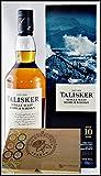 Talisker 10 Jahre Single Malt Whisky mit 45 DreiMeister Edel Schokoladen im Holzkistchen, kostenloser Versand