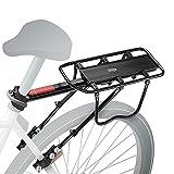 Mauna Kea Velopro | Mountainbike Gepäckträger – Einstellbarer Fahrrad Gepäckträger - Aluminiumlegierung – Gepäckträger für 22-27 Zoll