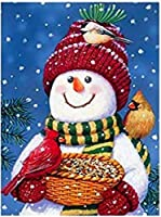 QMGLBG 500ピースの木製パズル 冬の雪だるまのギフト木製パズル大人と子供のレジャー教育玩具への理想的なギフト