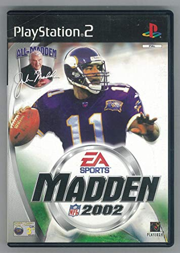 MADDEN NFL 2002 SPORTS PS2 PAL