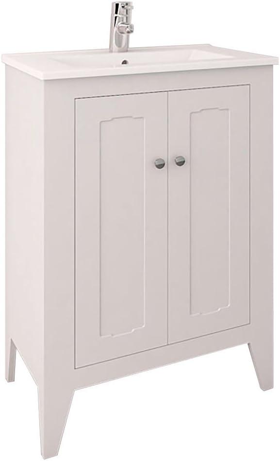 Buy Randalco 24 Inch Vintage Bathroom Vanity Cabinet Set White 24 X 35 X 18 Bathroom Vanity And Sink Combo Online In Vietnam B0792wx5ws