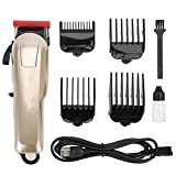 Best Hair Clippers - EECOO Wireless Hair Clipper, Stainless Steel Blade USB Review