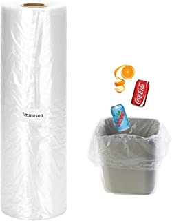 Rubbish Trash Bags, 16 x 20 inches Trash Bags for Kitchen, Car, Indoor Office, Living Room, Bedroom, Bathroom(350 Bags-1 Roll)
