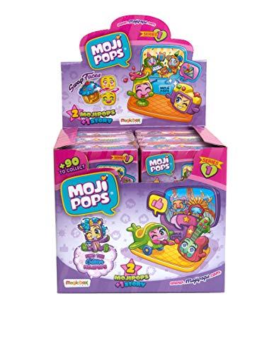 MOJIPOPS - Dipsplay de 12 Story Box con figuras MojiPops , c