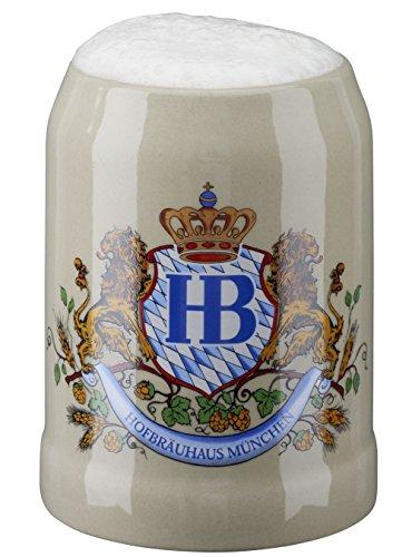 HB Hofbräuhaus München Bierkrug Hofbräuhaus München HB Krug 0,5 Liter King Werk KI 1000060