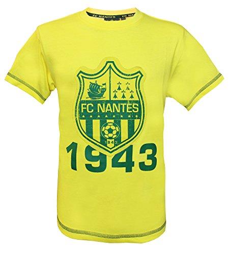 FC NANTES T-Shirt Collection Officielle FCNA - Taille Enfant garçon 10 Ans