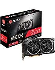 MSI Gaming Radeon RX 5600 XT Boost Clock: 1600 MHz 192-bit 6GB GDDR6 DP/HDMI Dual Torx 3.0 Fans Freesync DirectX 12 Ready Graphics Card (RX 5600 XT MECH OC)