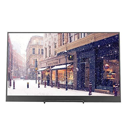 Tragbares Computerdisplay, 17,3 Zoll 1080P Full HD Display, IPS Split Bildschirm High Definition Display mit gleichem Bildschirm, Unterstützung für HDMI/PS3/PS4 an der Wand