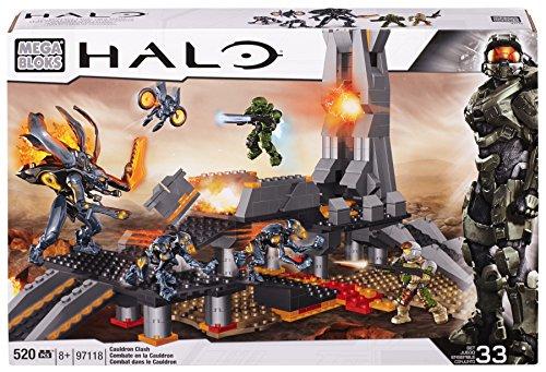 Mega Bloks 97118 - Halo Cauldron Clash, 518 Pezzi