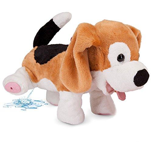 PIPI Max Plüsch-Hund mit Fernbedienung kann Laufen, bellen und PIPI Machen