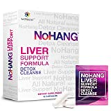 NoHang Liver Detox Supplement & Hangover Pill – Supports Liver Health & Function – All-Natural, Gluten Free, Non-GMO – No Hang Premium Quality Liver Cleanse Formula (10 Capsules)