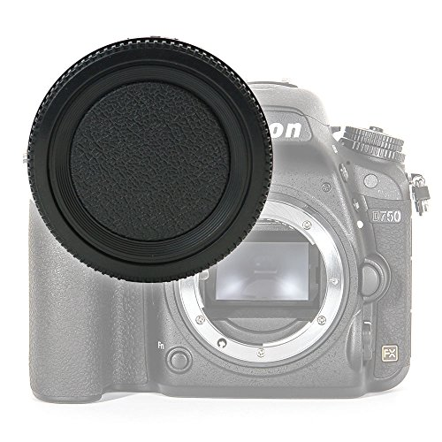 CELLONIC Gehäusedeckel Body Cap kompatibel mit Nikon D750 D3200 D3500 D5300 D5100 D810 D850 D7100 (BF-1B), Bajonettverschluss Kappe, Schutzdeckel F Mount (AF-S, AF-P, AI)