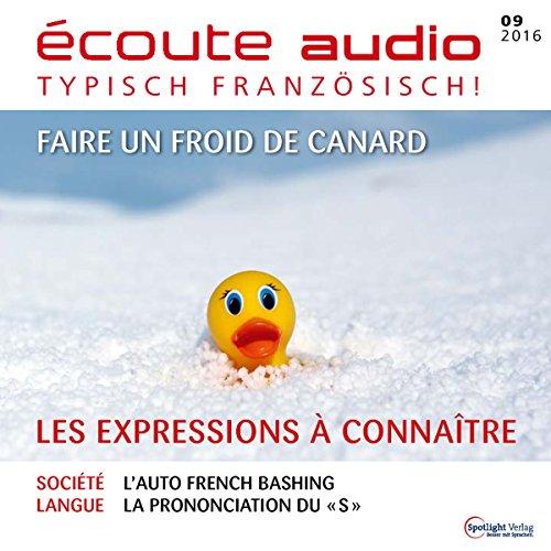 Écoute Audio - Les expressions à connaître. 9/2016 Audiobook By div. cover art