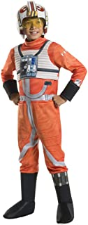 Star Wars Boys' X-Wing Fighter Pilot Deluxe Costume