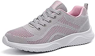 Women's Running Shoes Mesh Breathable Lightweight Casual Athletic Sneakers Walking Tennis Fashion Sports Shoes