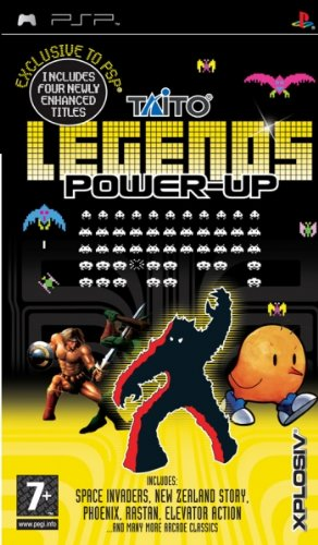 TAITO LEGENDS POWER-UP - Psp