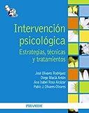Intervención psicológica: Estrategias, técnicas y tratamientos (Psicología)