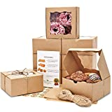 🍪 Best Quality On The Market! Borganic boxes are made out of 350gsm American Stone Kraft paperboard, which makes them 2x sturdier than any other box. Borganic boxes are also oil resistant to avoid any unsightly moisture stains from your pastries. 🍩 C...