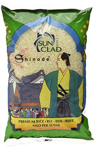 SUN CLAD Shinode Sushi Reis, 10er Pack (10 x 1 kg)