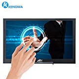 Kenowa Touchscreen Portable Monitor,10.1 Inch 2560x1600 IPS 2K Monitor Full HD IPS Display,10 Points Capacitive Touch,USB Power HDMI Video Input, Extremely Slim 12.5mm,Alu Body,Bulit in Speakers