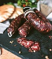 10 x 400 g - Salsiccia sarda affumicata. Prodotta dal salumificio Rovajo, di Desulo. Le salsicce Rovajo sono prodotte...