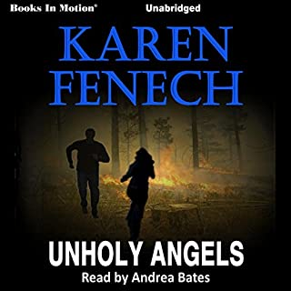 Unholy Angels audiobook cover art