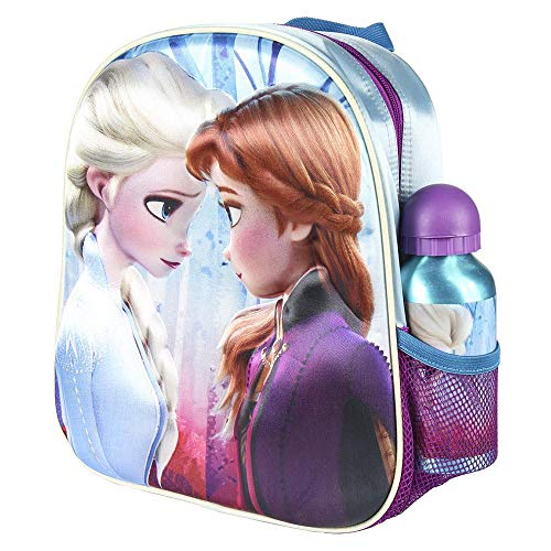 Cerdá, Mochila con Botella de Agua Infantil de Frozen 2-Licencia Oficial Disney...
