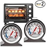 Best Oven Thermometers - Instant Read Oven Thermometer - Stainless Steel Grill/Smoker Review