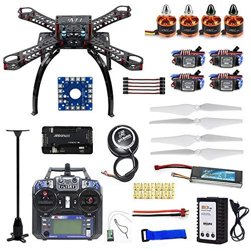 Xiaolizi Neues DIY RC-Drohne, Quadrocopter Full Set RTF X4M380L Frame Kit APM 2.8 Flight Controller GPS Flysky-Sender Remote Controller