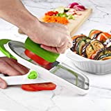 Urban Trend Mistral Mandoline Slicer and Julienne - Cuts Fruits and Vegetables in 2 Directions - Faster Safer Food Prep