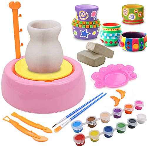 IAMGlobal Pottery Wheel, Pottery Studio, Craft Kit, Artist...