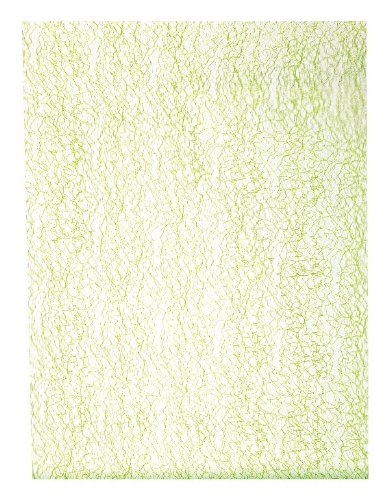 Deko-filet en tulle «chemin de table vert clair 250 mm x 10 m