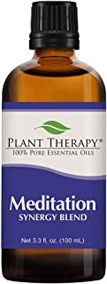 Plant Therapy Meditation Synergy Essential Oil Blend 100 mL (3.3 oz) 100% Pure, Undiluted, Therapeutic Grade
