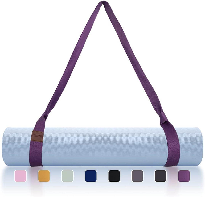 TULU Kansas City Mall Yoga Mat Strap Sling Exercise Adjustable Car Stretching Indianapolis Mall
