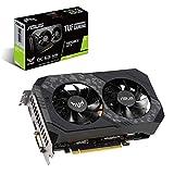 Asus NVIDIA GeForce GTX 1660 OC Edition 6GB GDDR5 192-bit Turing architecture Auto-Extreme
