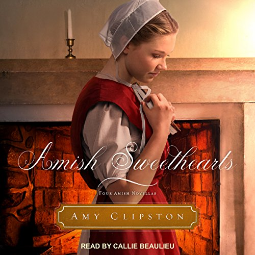 Amish Sweethearts audiobook cover art