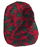 Simple Stoma Cover Ostomy Bag Cover Christmas Holly Rot -